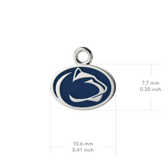 Penn State University Pendant Necklace - Enamel