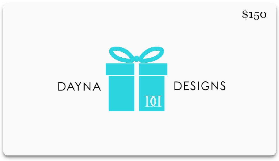 "Dayna Designs® e-Gift Card ""Wrapped in a Bow"""