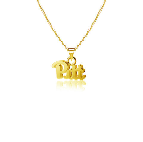 University of Pittsburgh Pendant Necklace - Gold Plated