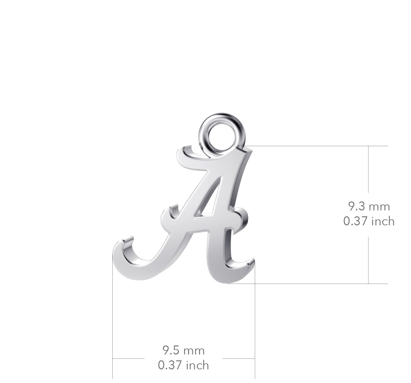 University of Alabama State Outline Necklace