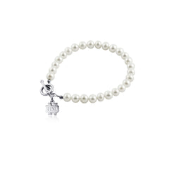University of Notre Dame Pearl Bracelet