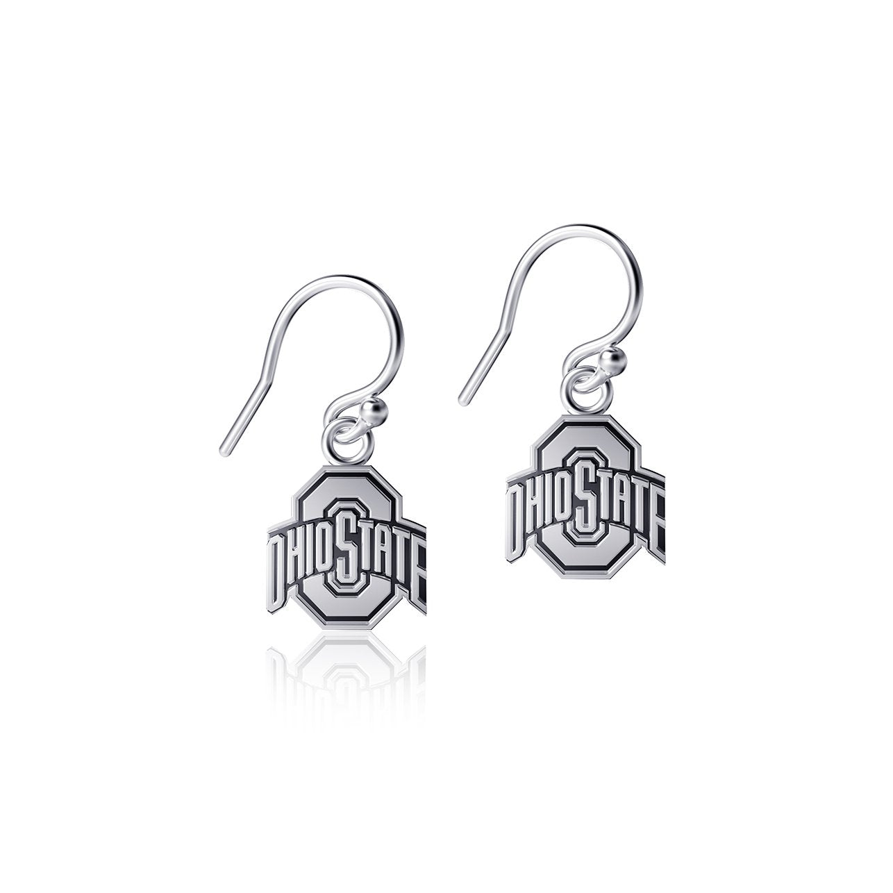 Ohio State University Dangle Earrings