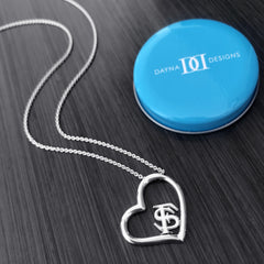 Florida State University Heart Necklace