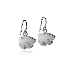 Kansas State University Dangle Earrings