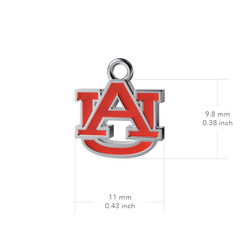 Auburn University Post Earrings - Enamel