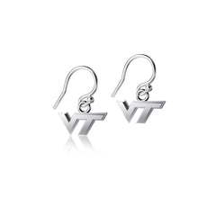 Virginia Tech University Dangle Earrings