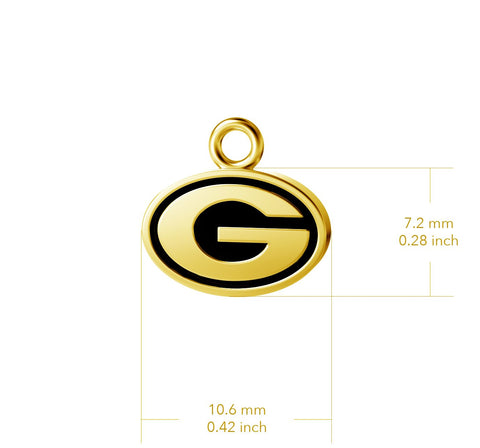University of Georgia Pendant Necklace - Gold Plated