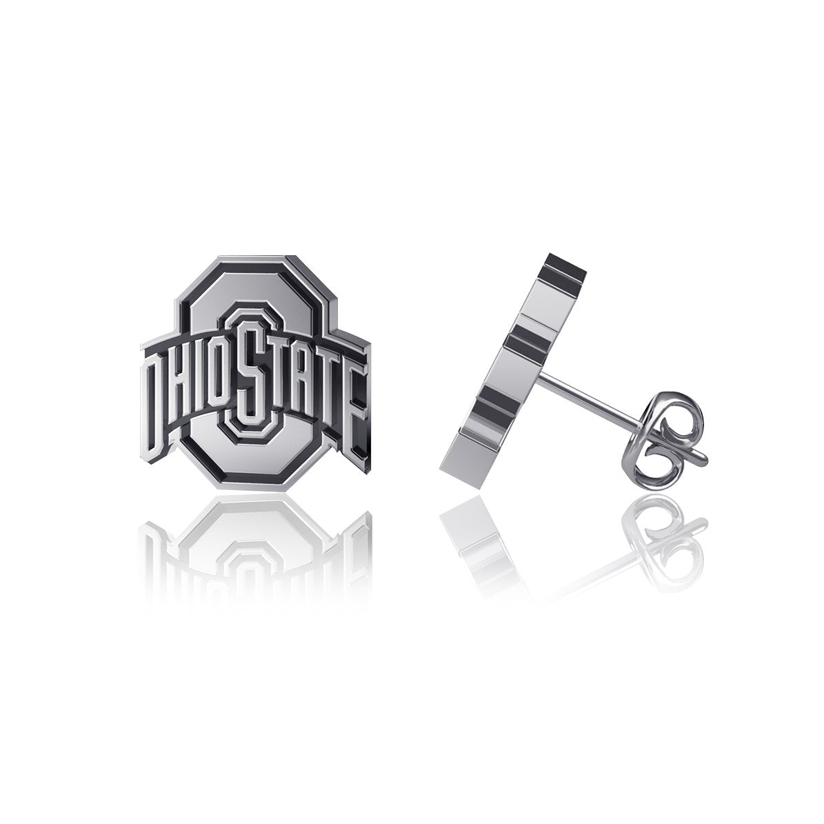 Ohio State University Post Earrings