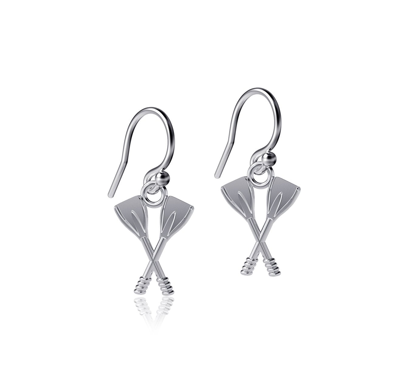 Crew Rowing Dangle Earrings