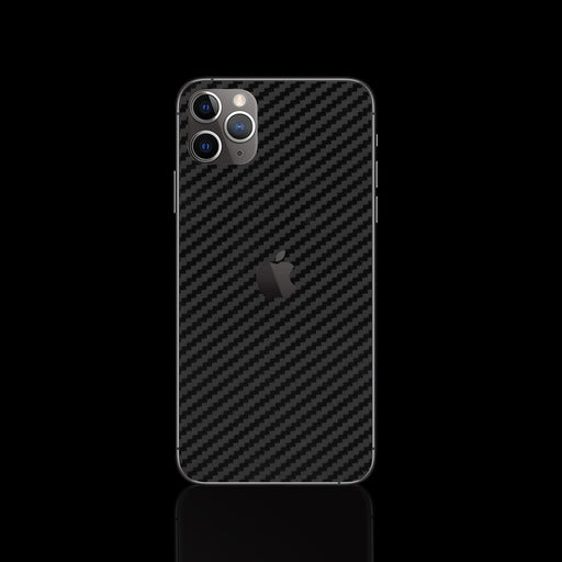 Black Carbon Fiber Skin - iPhone 11 Pro Max