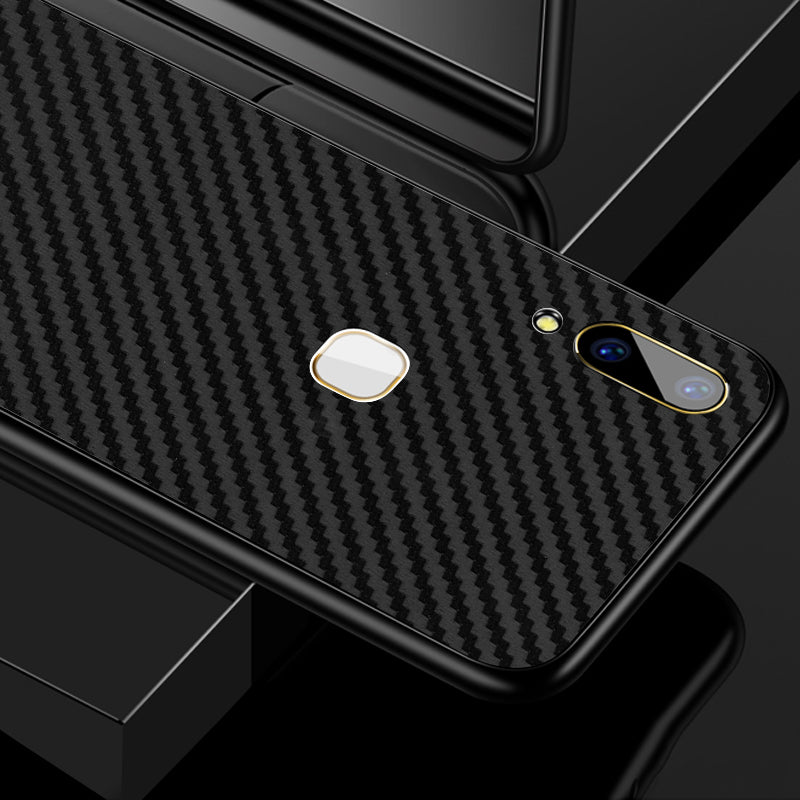 Black Carbon Fiber Skin - VIVO V9