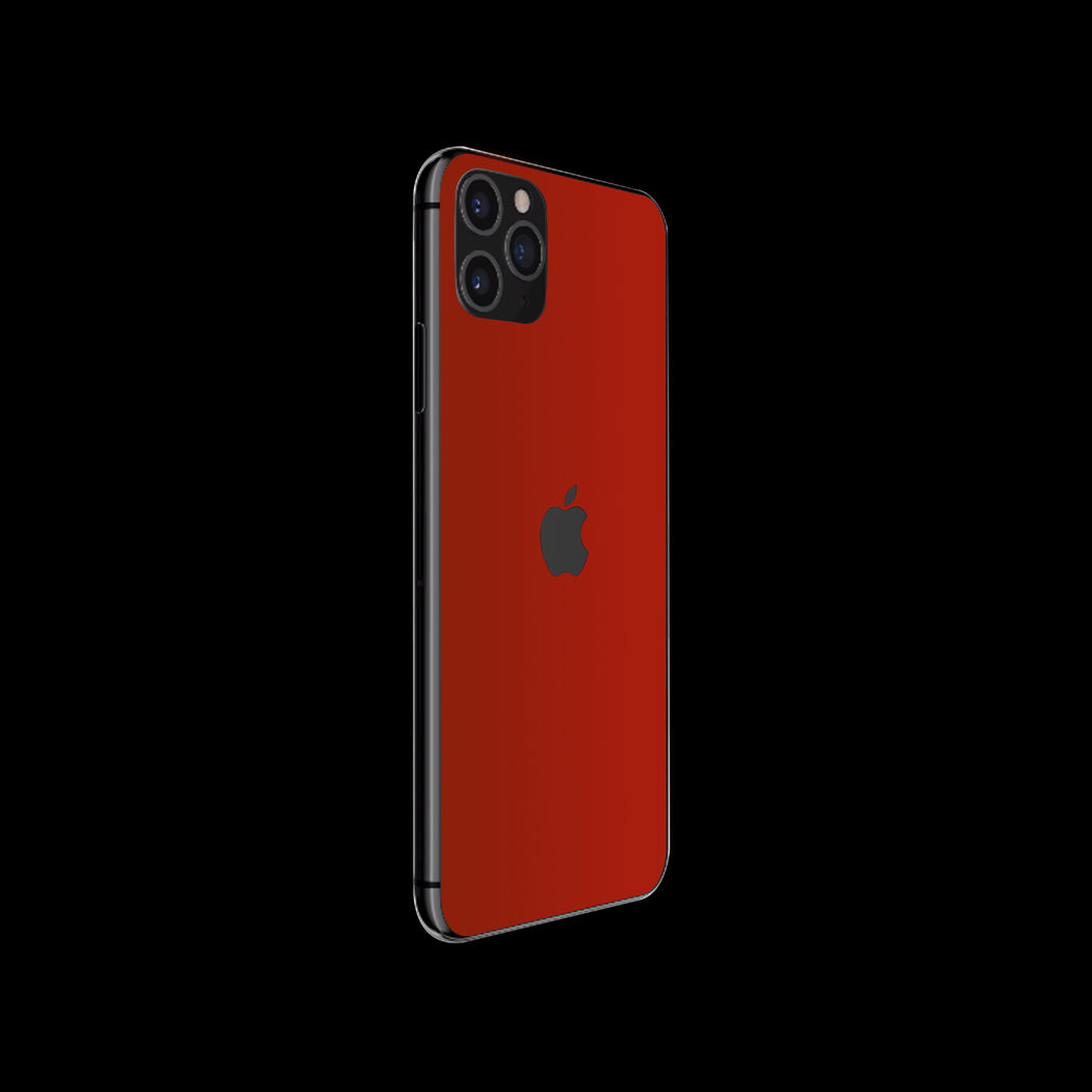 Red Satin Skin - iPhone 11 Pro