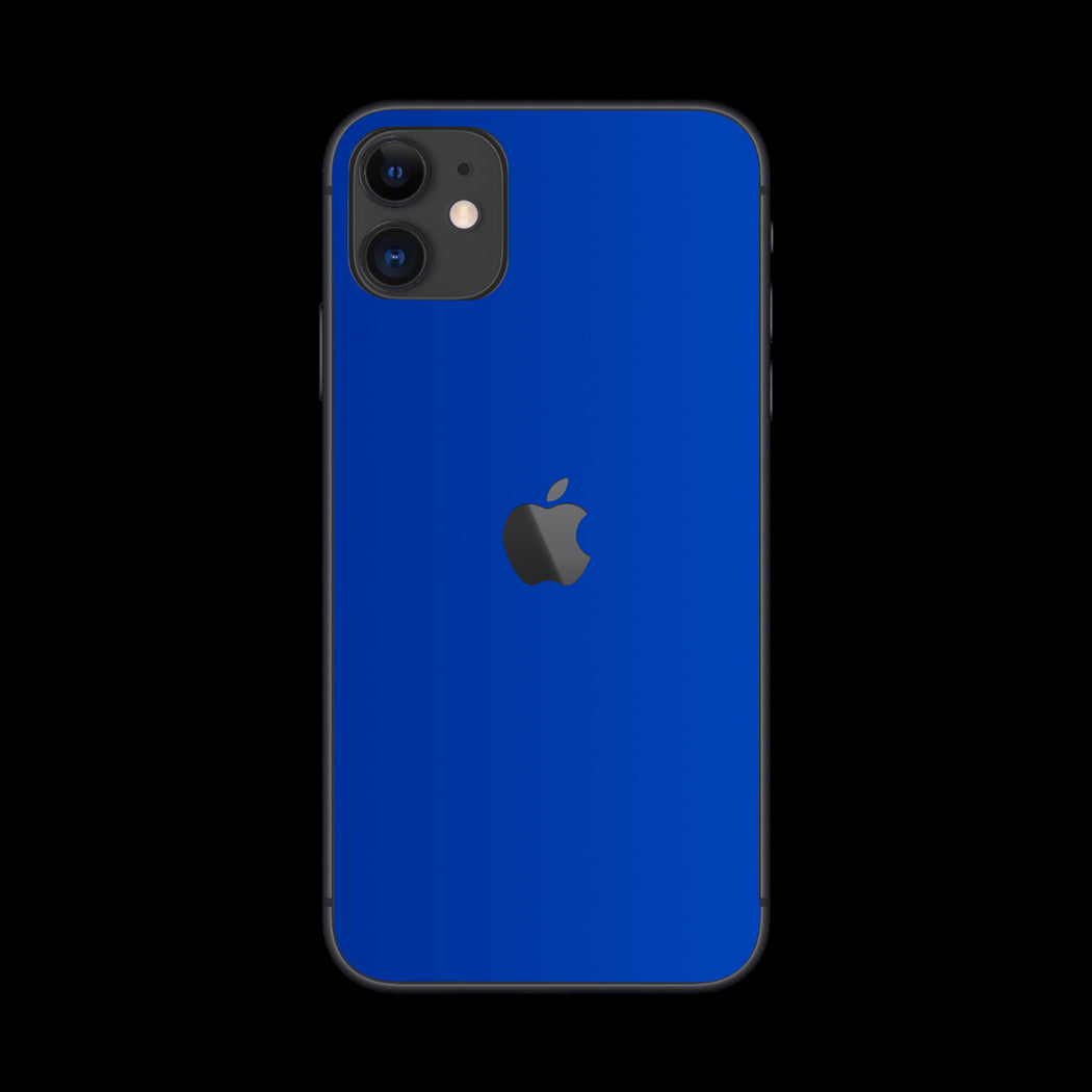 Blue Satin Skin - iPhone 11