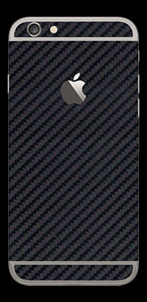 Black Carbon Fiber Skin - iPhone