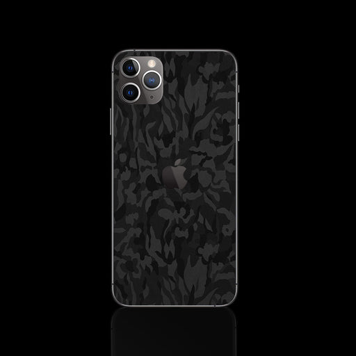 Black Camouflage Skin - iPhone 11