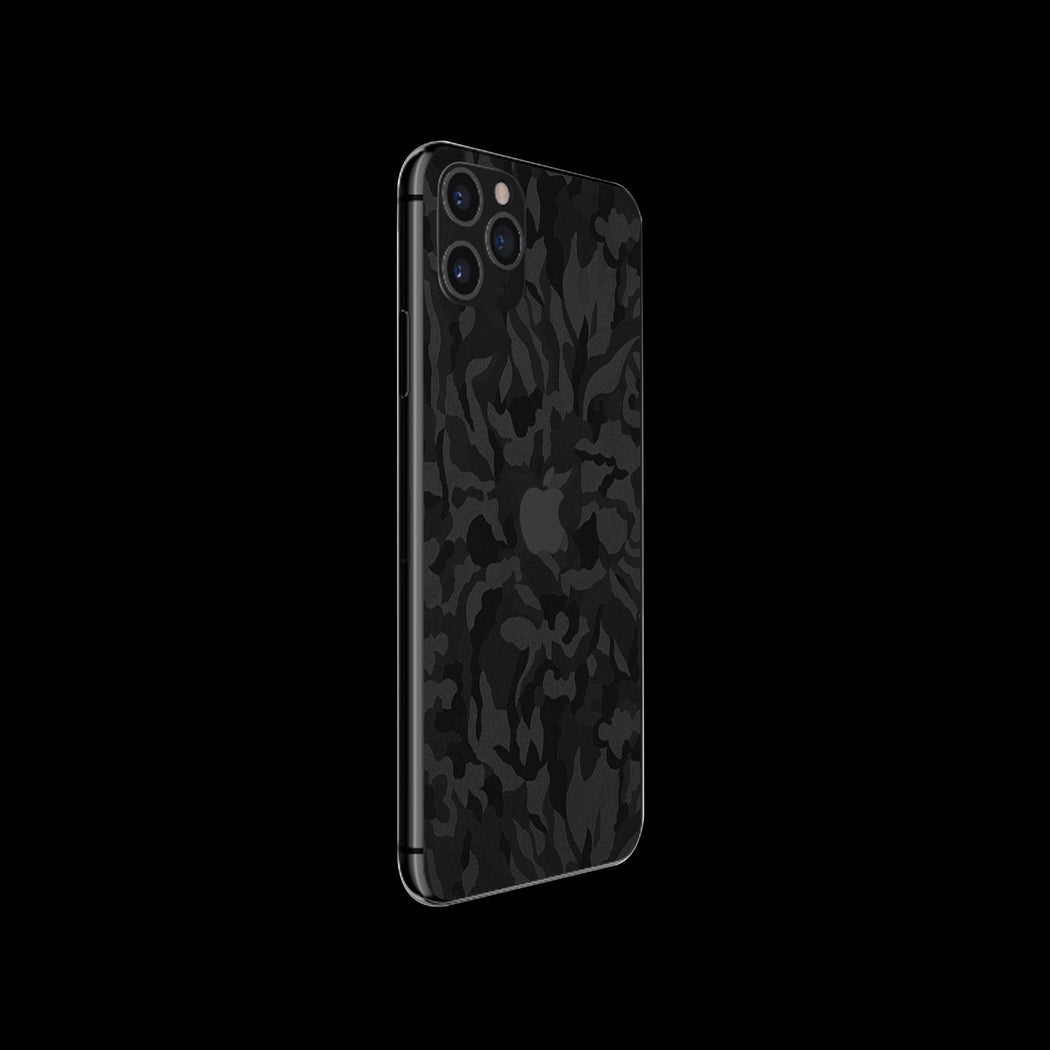 Black Camouflage Skin - iPhone 11 Pro