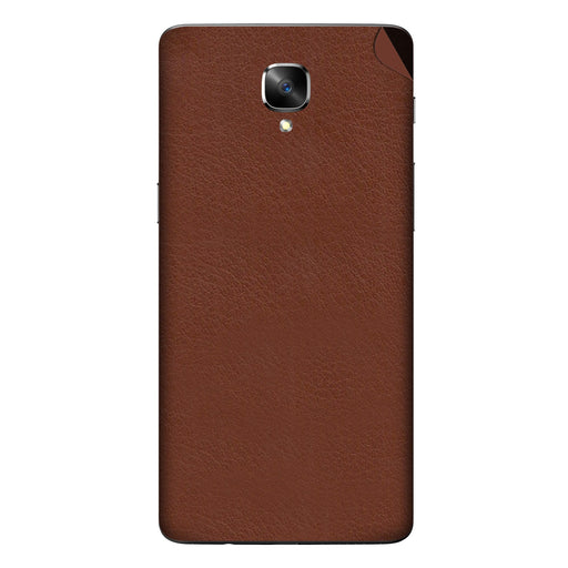 Brown Leather Skin - OnePlus 3