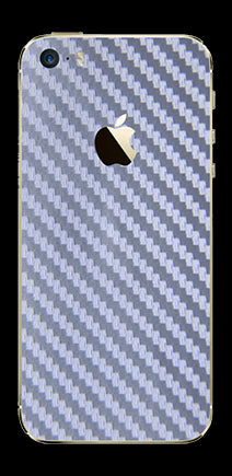 Silver Carbon Fiber - iPhone 5S