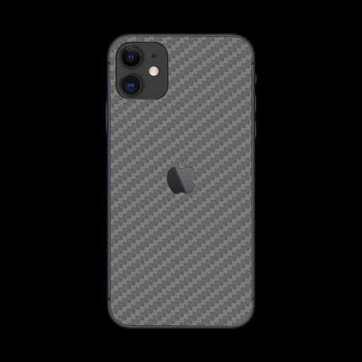 Silver Carbon Fiber - iPhone 11