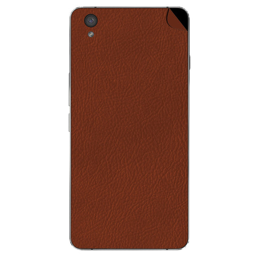 Brown Leather Skin - OnePlus X