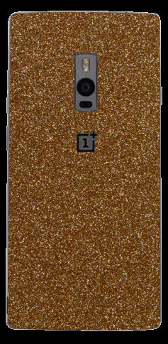 Gold Glitter Skin - One Plus 2
