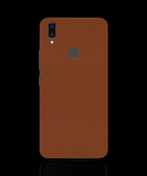 Brown Leather Skin - VIVO V9