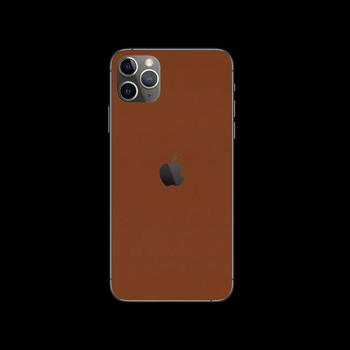 Brown Leather Skin - iPhone 11 Pro Max