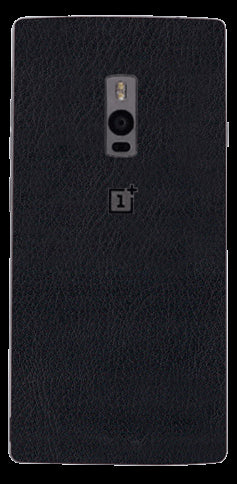 Black Leather Skin - OnePlus 2
