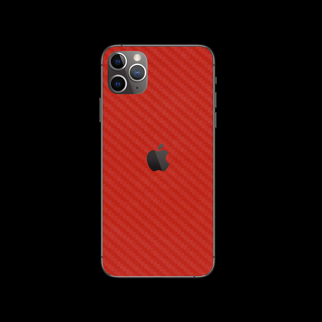 Red Carbon Fiber - iPhone 11 Pro