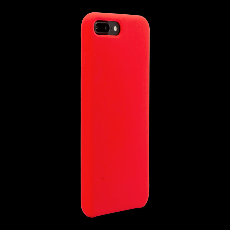 Red Silicon Case - iPhone 8 Plus