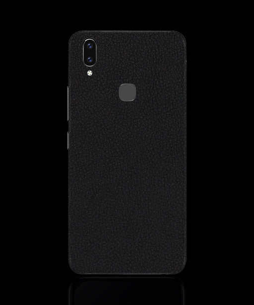 Black Leather Skin - VIVO V9