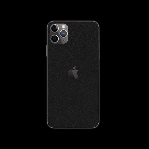 Black Leather Skin - iPhone 11 Pro Max