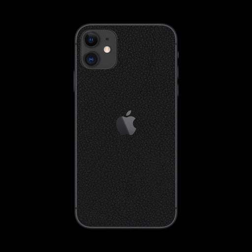 Black Leather Skin - iPhone 11
