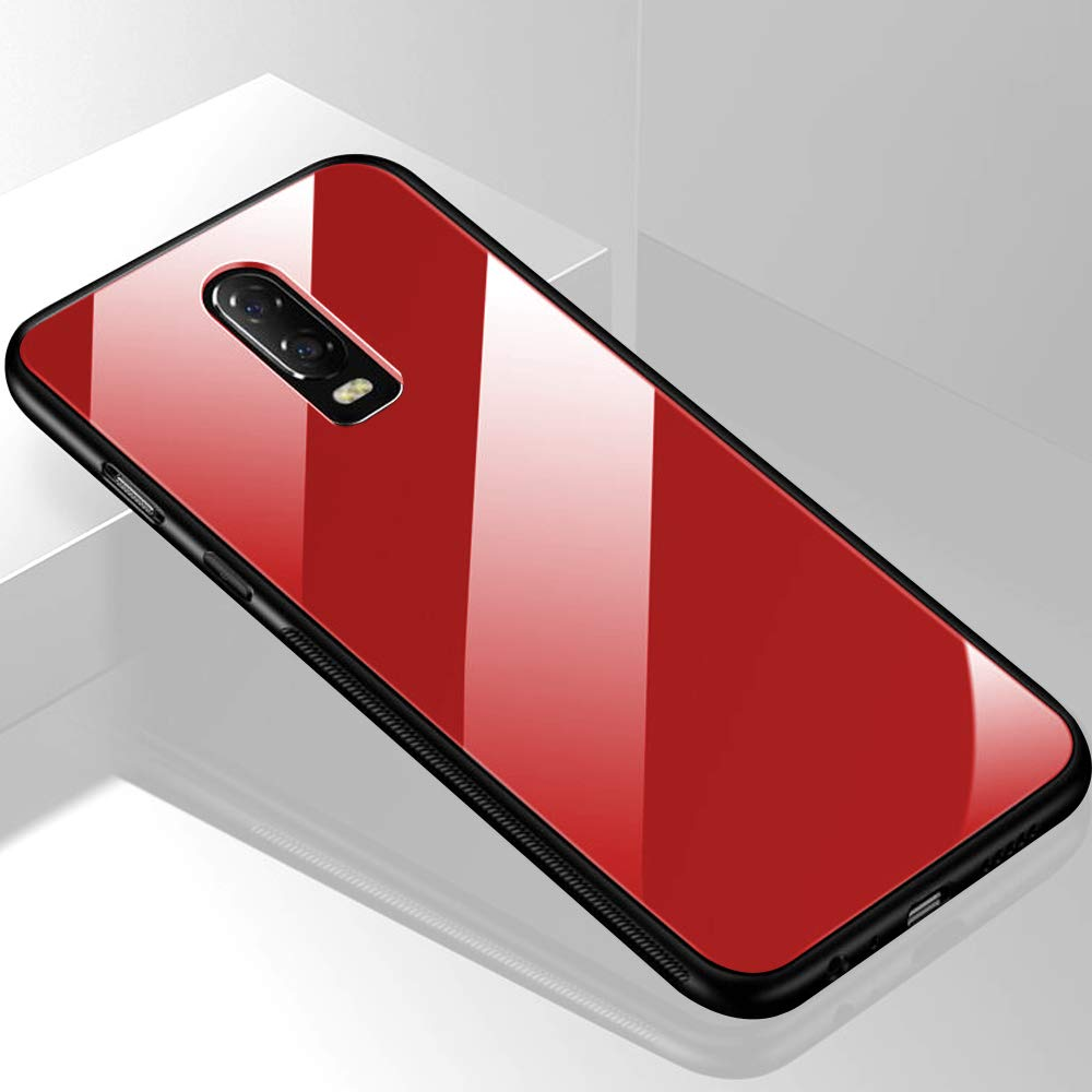 Glass Back Case- OnePlus 6T