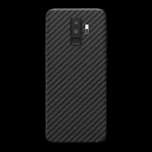 Black Carbon Fiber Skin - Samsung S9 Plus