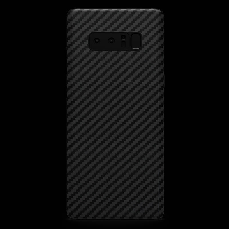 Black Carbon Fiber Skin - Note 8