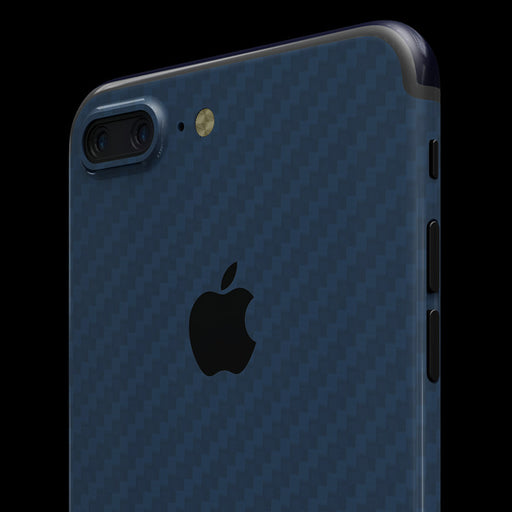 Blue Carbon Fiber Skin - iPhone 7 Plus