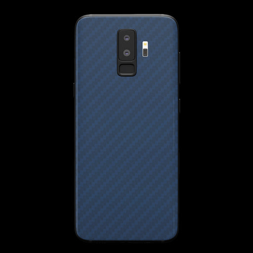 Blue Carbon Fiber Skin - Samsung S9 Plus