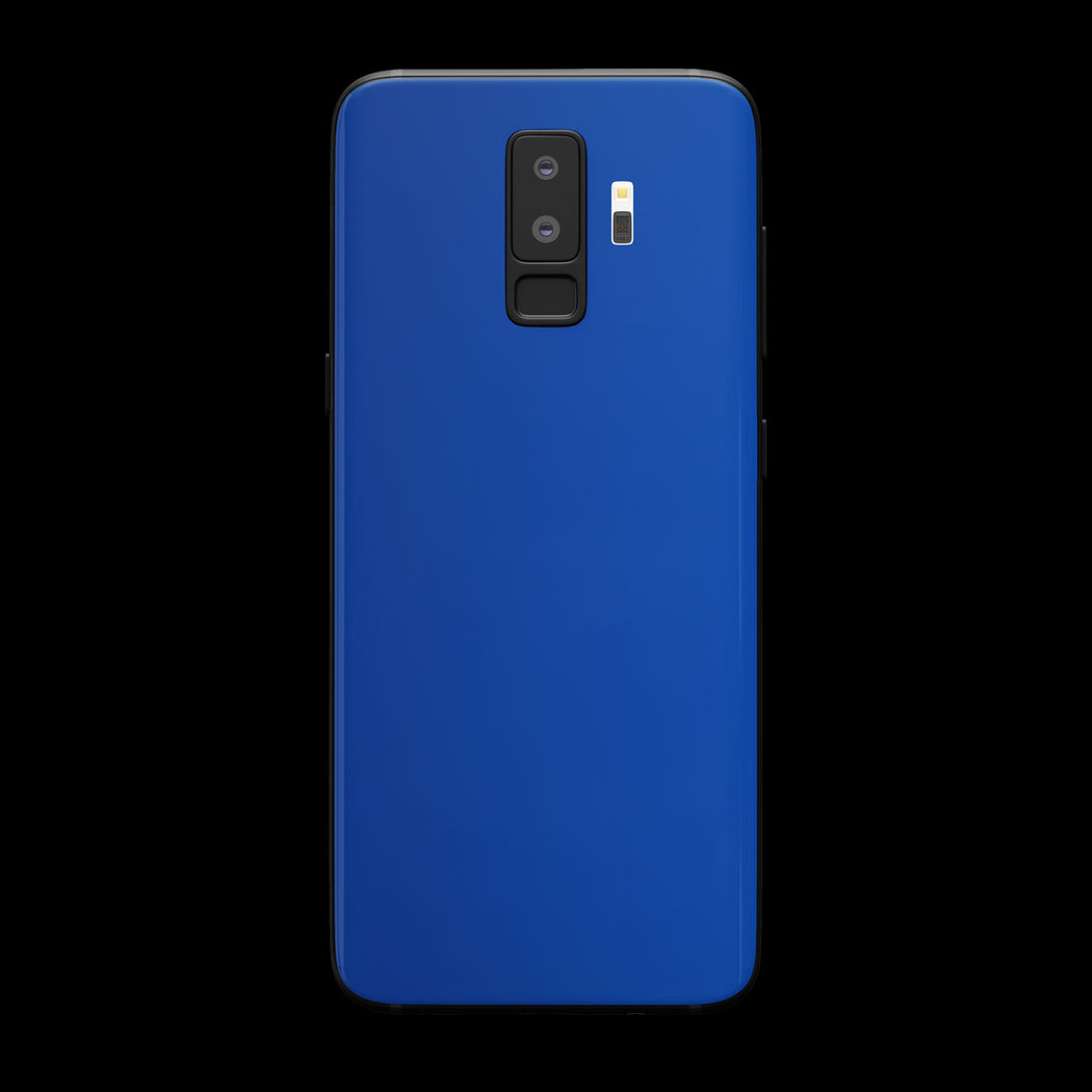 Blue Satin Skin - Galaxy S9 Plus