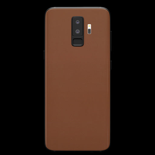 Brown Leather Skin - Samsung S9 Plus