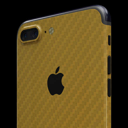 Gold Carbon Fiber - iPhone 7 Plus