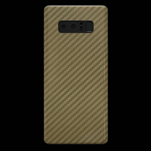 Gold Carbon Fiber Skin - Note 8