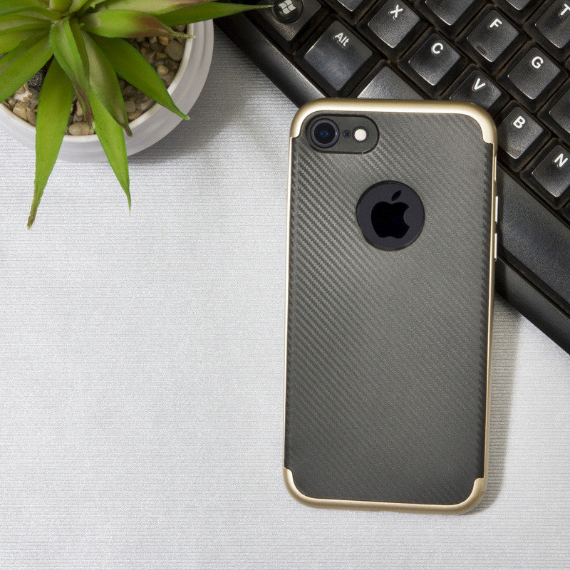 Gold Metal Bumper Case - iPhone 7