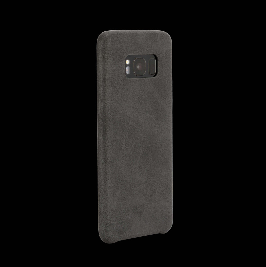 Black Leather Case - Galaxy S8|S8+