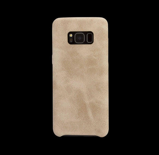 Beige Leather Case - Galaxy S8|S8+