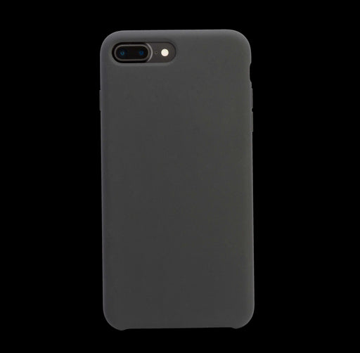 Black Silicon Case - iPhone 8 Plus