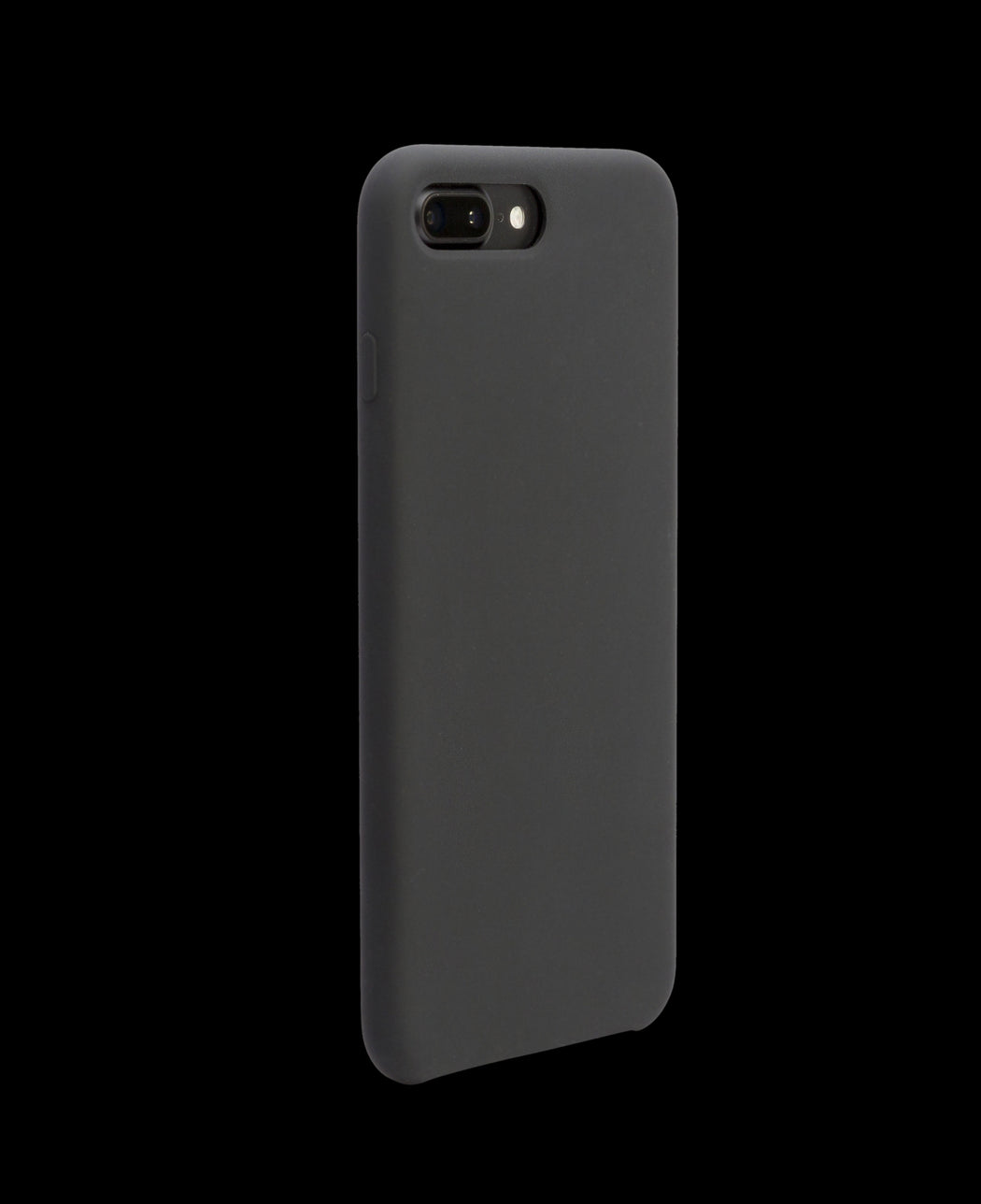 Black Silicon Case - iPhone 7 Plus