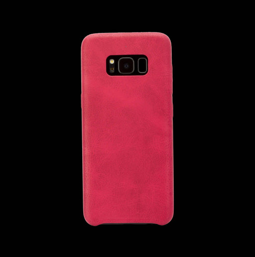 Red Leather Case - Galaxy S8| S8+