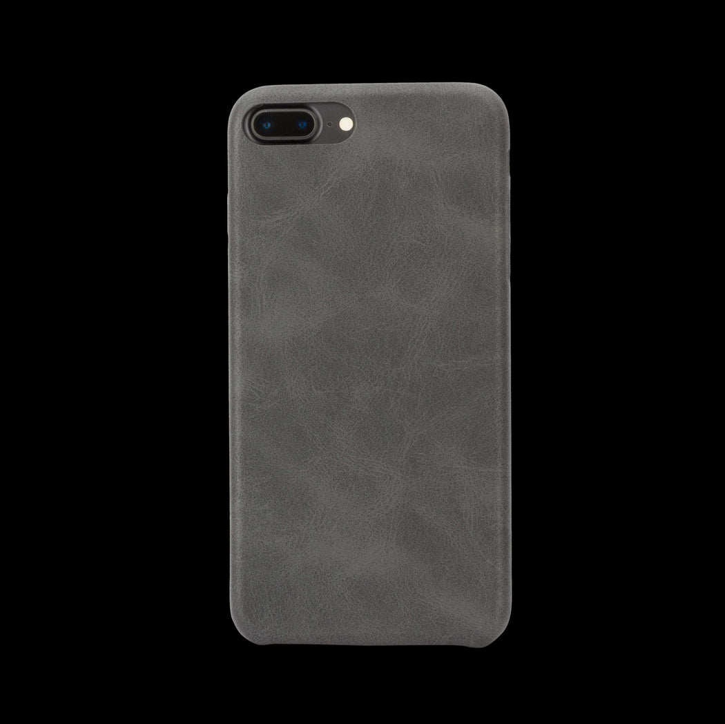 Black Leather Case - iPhone 8 Plus