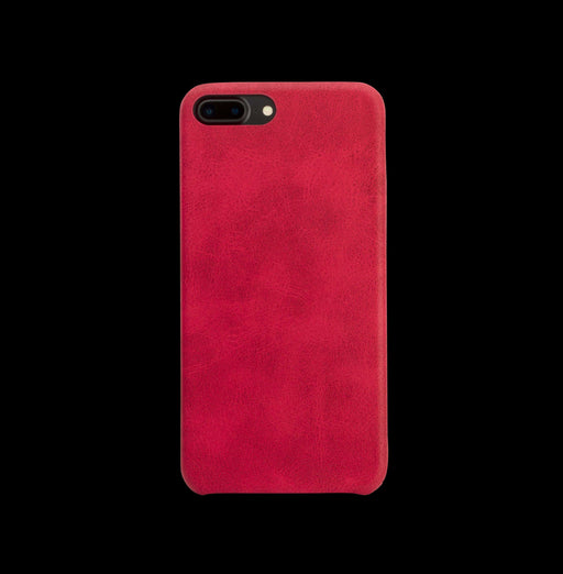 Red Leather Case - iPhone 7 Plus